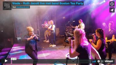 Stadshart op koers - Ruth Jacott live band - Den Helder