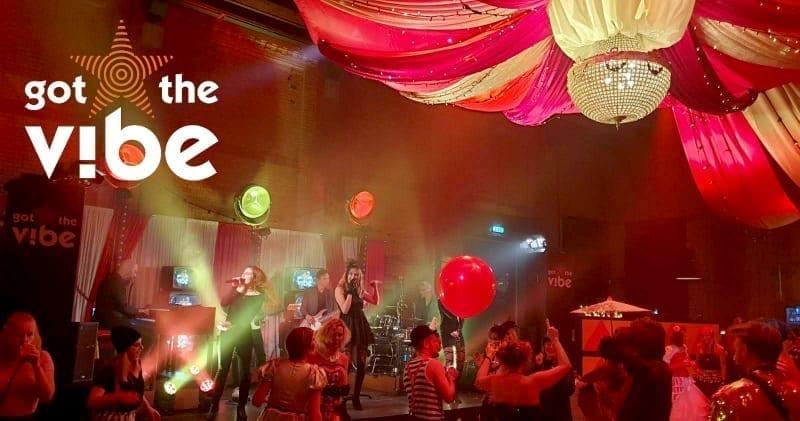 De Lichtfabriek verandert in een freakshow carnivale samen met Got the VIBE | feestband.com