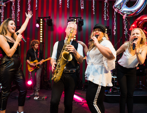 Big Band Boston Tea Party viert een feestje met Redwood in Duitsland