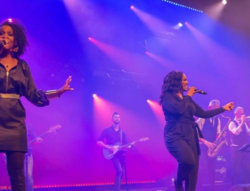 Big Black and Beautiful swingt samen met Boston Tea Party tijdens Aemstie Alive!